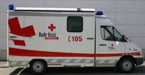 Ziekenwagen Rode Kruis